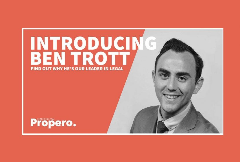 Ben Trott wins award