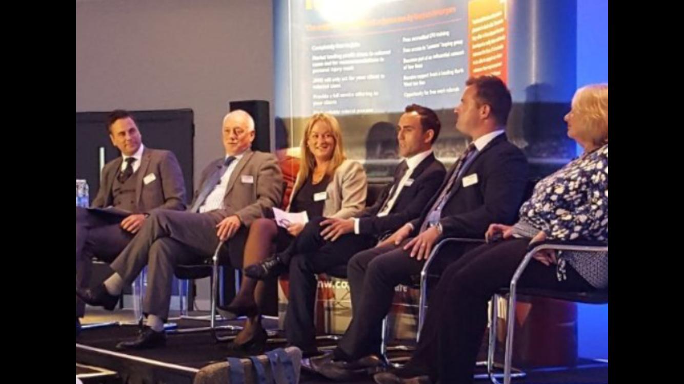Ben Trott on speaking panel